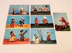 Vintage 7 dravings russian postcards Collectible Size 14*9cm  1967 year  Postcards will be packed in special packaging and sent to you with the code tracking Air!  I can combine some orders to save your money on shipping.Write me.