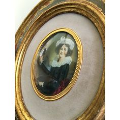 Italian Beauty Florentine Framed Portrait Gold Oval Frame Litho Under... ($40) ❤ liked on Polyvore featuring home, home decor, wall art, gold home decor, gold home accessories, glass home decor, gold framed wall art and gold wall art