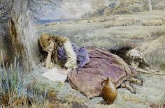 Myles Birket Foster, The Sherpherdess