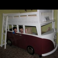 VW bunk bed...I've been dreaming of this my whole life..