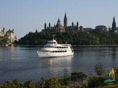 Evening on the Ottawa River. Ottawa River, Cruises, Quebec, Ontario, Bucket, Join, Meal, Canada, Entertainment