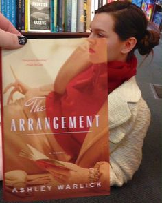 bookface ~ The Arrangement by Ashley Warlick