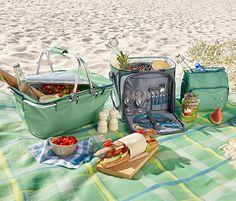 Yeşil Mavi Mini Soğutucu Çanta Lunch Box, Basket, Kitchen Stuff, Bento Box