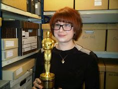 """Josie MacAvin's Oscar for """"Out of Africa""""(1985)"""