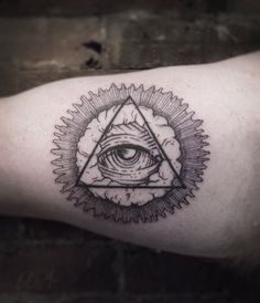 all seeing eye tattoo - Google Search