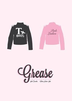 I'm going to be making myself a T-Bird's jacket-- I can't wait to see how it turns out !!! :D