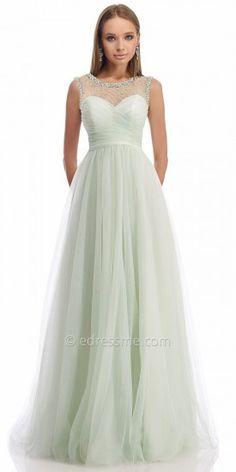 Pearl Pleated Evening Dresses by Nika  #edressme