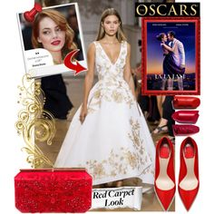 How To Wear red carpet look Emma Stone Outfit Idea 2017 - Fashion Trends Ready To Wear For Plus Size, Curvy Women Over 20, 30, 40, 50