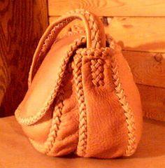 Handmade Leather Purses | handmade leather purses, custom designed for braided construction
