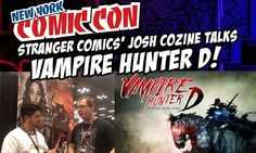Pete's in the Stranger Comics booth talking with Josh Cozine about one of his favorite anime and manga characters Vampire Hunter D! After an enormously successful Kickstarter campaign D is poised to star in his very first western comic book adventure A Message From Mars!  #VampireHunterD #StrangerComics #HideyukiKikuchi #YoshitakaAmano #vampire #Dracula #Mars #Bloodlust #anime #manga #KurtRauer #MichaelBroussard #MessageFromMars #VampireHunter