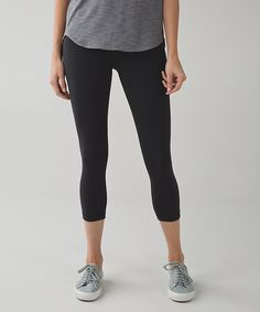 Lululemon Wunder Under Blk Crop with MESH CALF! Sold out! Worn less than 5 times! Black crop (I don't like crops in my legs) great condition. Full luon fabric with MESH CALF! 🚫🚫🚫🚫🚫🚫NO TRADES 🚫🚫🚫🚫🚫🚫 lululemon athletica Pants Ankle & Cropped Lululemon Wunder Under, Lululemon Athletica, Athletic Outfits, Athletic Wear, Cropped Pants, Black Pants, Yoga Pants, Leggings, Second Skin
