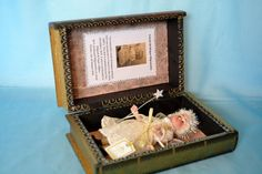 Antique doll by Migault & Papin 1880s+  One of a kind fairy outfit by Pauline Porter