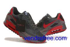 low priced f72b4 33577 Vendre Pas Cher Homme Chaussures Nike Air Max 90 (couleur noir,rouge,marron)  en ligne en France.