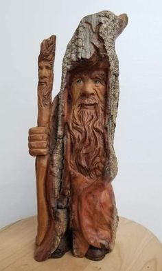 Wood Carving Faces, Dremel Wood Carving, Wood Carving Designs, Wood Carving Patterns, Wood Carving Art, Wood Bark, Walking Canes, Tree Bark, Whittling