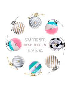 Cutest Bike Bells Ever