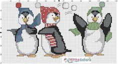 Xmas Cross Stitch, Cross Stitch Christmas Ornaments, Cross Stitch Needles, Christmas Cross, Cross Stitch Charts, Cross Stitching, Cross Stitch Embroidery, Modern Cross Stitch Patterns, Cross Stitch Designs