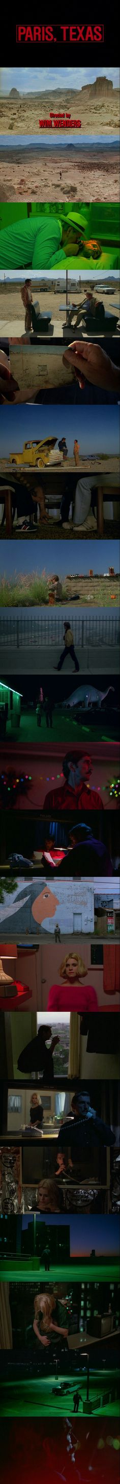 Paris, Texas (1984) Directed by Wim Wenders.