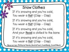 Winter - Centers and Circle Time Preschool Unit Circle Time Songs, Circle Time Activities, Winter Activities, Songs For Toddlers, Kids Songs, Preschool Music, Preschool Activities, Preschool Printables, Winter Songs For Preschool