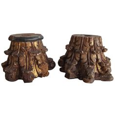 19th Century Wood capitals