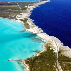 Where the Atlantic meets the Caribbean in Eleuthera, Bahamas #beenthere