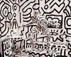 keith-haring famous celebrity in film, fashion, art, music,beautiful fame, the wall of fame, collected by marald marijnissen, www.marijnissenfografie.nl