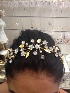 Vênus, pedraria acessórios para cabelo, feminilidade