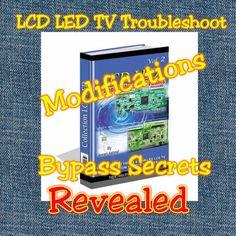 LCD LED TV Panel Bypass methods and tricks eBooks. Sony Led, Hindi Comics, Lcd Television, Tv Panel, Electronics Basics, Electronic Schematics, Gujarati Quotes, Sheik, Secrets Revealed