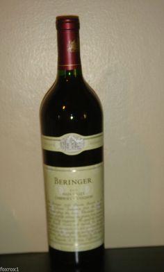1999 Beringer Private Reserve Napa Valley Cabernet Sauvignon 750 ML Red Wine #Wine