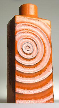 Steuler Cari Zalloni Zyklon West German Pottery Modern Mid Century Vintage Retro