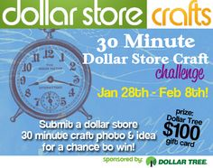 Dollar Store Crafts 30 Minute Crafting Challenge!