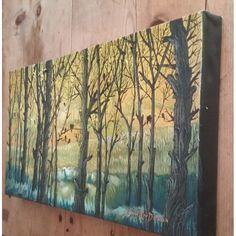 """Paintings - FREE COURIER --- """"MISTY MORNING ACTIVITY"""" Painting by KAROO Artist, Cherie Roe Dirksen 250x500x40 for sale in Barrydale (ID:460250997) Morning Activities, South African Artists, Art Auction, All Art, Original Art, Paintings, Free, Board, Paint"""