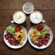 Instagram media symmetrybreakfast - it's Friday! symmetrical breakfast #friday #breakfast #itstheweekend #mostimportantmealoftheday #food #delicious