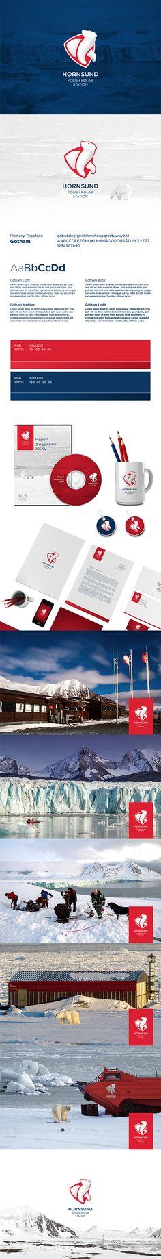 Hornsund Polish Polar Station by Leszek Jędraszczak, via Behance