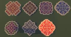 Floor patterns