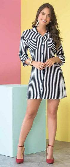 Casual Dresses, Fashion Dresses, Dresses For Work, Indian Gowns, Look Fashion, Womens Fashion, Lovely Dresses, Dress Me Up, Women Wear
