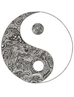 Ying Yang - From all good comes bad, from all bad comes good. This symbol keeps…