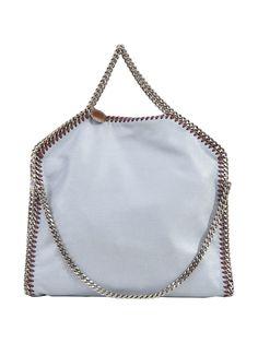 STELLA MCCARTNEY FALABELLA FOLD OVER TOTE. #stellamccartney #bags #hand bags #tote #