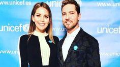 David Bisbal formalizó su relación con su novia venezolana, Rosanna Zanetti  David junto a su novia Rosanna, con quien firmó los papeles de su unión de hecho.