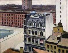 Edward Hopper : The City (1927)