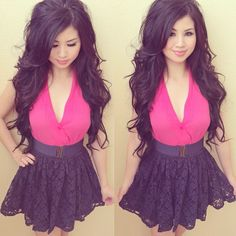 Dress and Hair<3