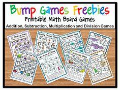 Fun Games 4 Learning: Bump! Bump! Bump! Bump Math Games