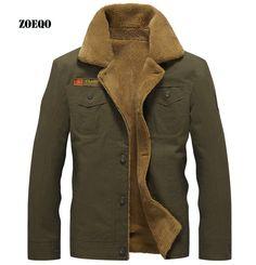 winter  bomber jacket Men Casual Army Outerwear tactical jackets mens cotton thick fur collar warm coats jaqueta masculino M-5XL