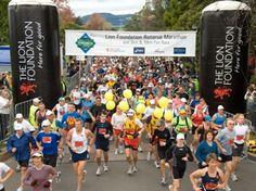 Lion Foundation Rotorua Marathon. New Zealand