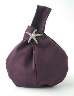 purple purse, wristlet purse ,purple handbag, party purse, evening bag, clutch bag, purple bag, bridesmaid purse, vegan bag