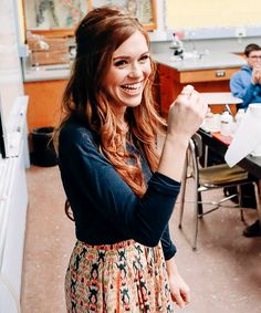 Holland Roden launched a new Meatless Monday poster and video campaign for The Humane Society of the United States at Hamilton High School, Monday, Jan. 26, 2015.