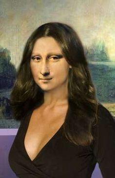 Exclusivo - 38 Imagens da Mona Lisa Em Versão Gatinha!! - BlogdeImagens.Com - As Imagens Mais Vista Na Internet
