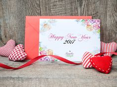 Free New Year Greeting Card Mock-up Psd & Template Design by Ess Kay | Graphic-Google