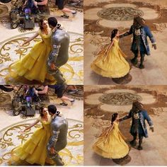 Behind the scenes of Beauty And The Beast