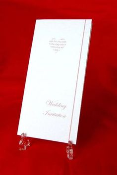 With This Ring Wedding Invitation