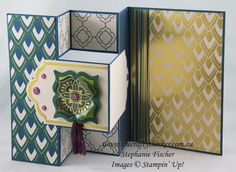 I made this card using the Eastern Palace Suite of Products for our latest Crazy Crafters Blog Hop, in which we are all featuring products from the new Annual Catalogue .... so it's a giant sneak peek! I just love the versatility of this bundle! http://bit.ly/2q9oIAl